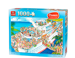 Comic 1000pcs Cruise