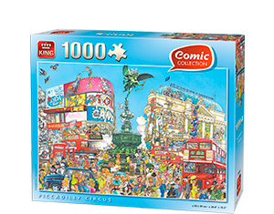 Comic 1000pcs Piccadilly Circus