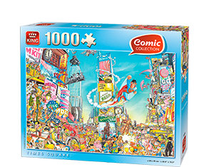 Comic 1000pcs Times Square