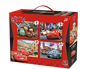 Disney 4in1 Cars 2