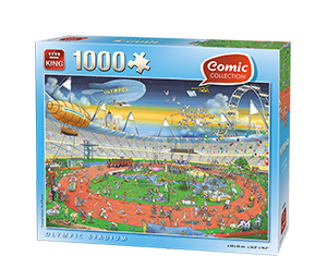 Comic 1000pcs Olympic Stadium