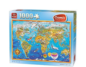 Comic 1000pcs World