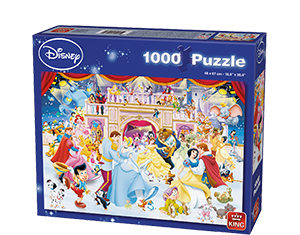 Disney 1000pcs Holiday On Ice