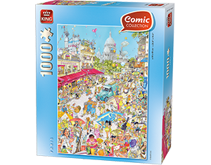 Comic 1000pcs Paris