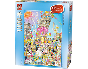 Comic 1000pcs Pisa