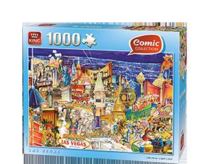 Comic 1000pcs Las Vegas