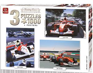 Compendium 3in1 Racing Cars