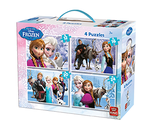 Disney 4in1 Suitcase Frozen