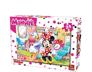 Disney 24pcs Minnie Polka A+B Ass 2