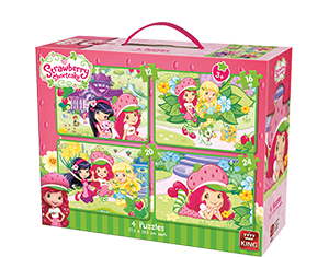 Strawberry Shortcake 4in1 Koffer