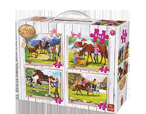 Girls & Horses 4in1 Suitcase