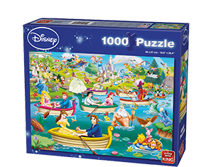Disney 1000pcs Fun On The Water