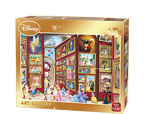 Disney 1500pcs  Art Gallery