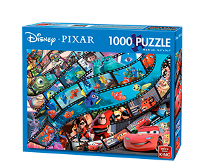 Disney 1000pcs Pixar Movie Magic