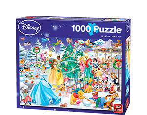 Disney 1000pcs Winter Wonderland