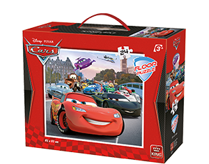 Disney 24pcs Floorpuzzle Cars 2