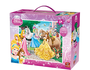 Disney 24pcs Floorpuzzle Princess