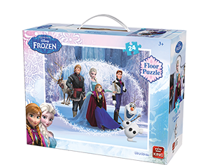 Disney 24pcs Floorpuzzle Frozen