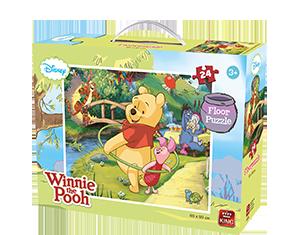 Disney 24pcs Floorpuzzle Winnie The Pooh