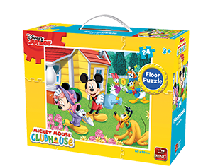 Disney 24pcs Floorpuzzle Mickey Mouse