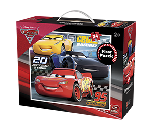Disney 24pcs Floorpuzzle Cars 3