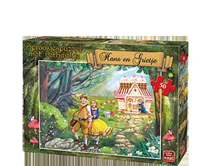 Hans En Grietje 50pcs Puzzle