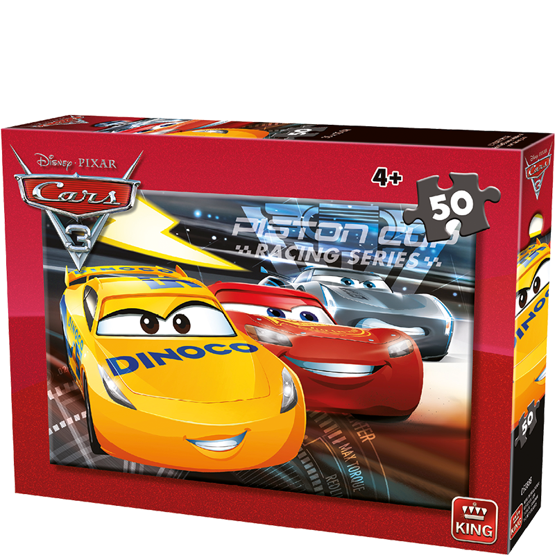 Disney 50pcs Cars A B Ass 2 King International