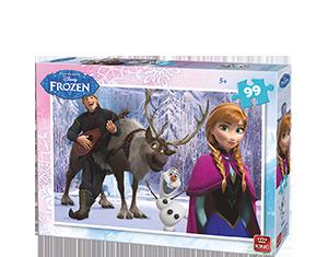 Disney 99pcs Frozen A+B Ass 2