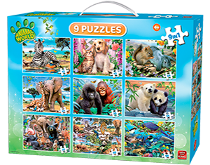 Animal World 9in1 Koffer
