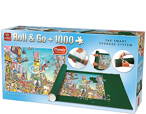 Roll & Go + 1000pcs Comic