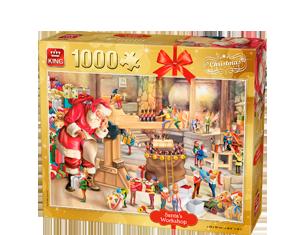 Generic 1000pcs Santa's Workshop