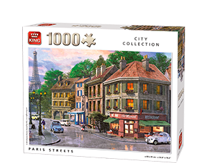 Generic 1000pcs Paris Streets