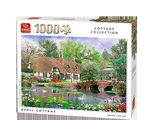 Generic 1000pcs April Cottage