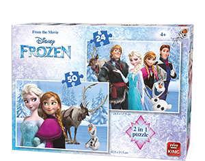 Disney 24/50pcs 2in1 Frozen