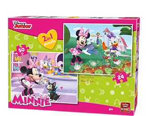 Disney 24/50pcs 2in1 Minnie Bowtique
