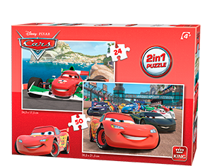Disney 24/50pcs 2in1 Cars