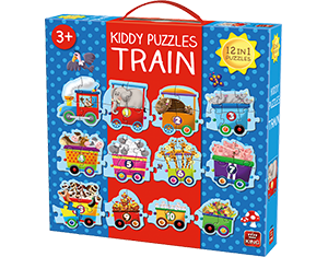 Kiddy 1-2-3 Train Giant Puzzle