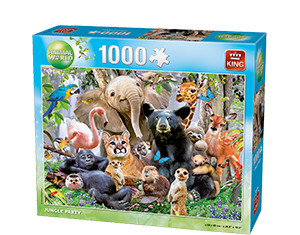Animals World 1000pcs Jungle Party