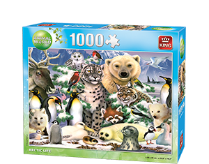 Animals World 1000pcs Artic Life