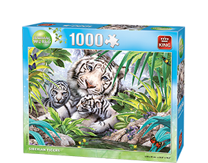 Animal World 1000p Siberian Tiger