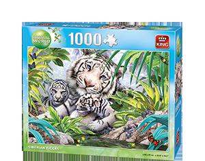 Animal World 1000p Siberian Tiger
