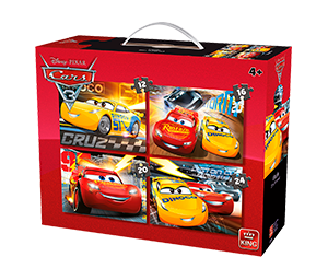 Disney 4in1 Suitcase Cars 3
