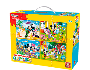 Disney 4in1 Suitcase Mickey Mouse