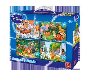 Disney 4in1 Suitcase Animal Friends
