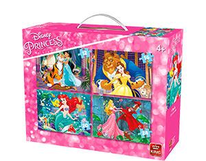Disney 4in1 Suitcase 4 Princesses