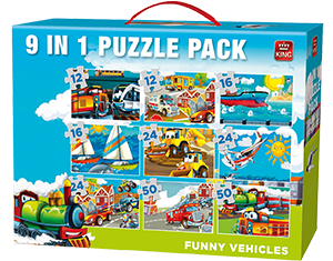 Funny Vehicles 9in1 VOL 2