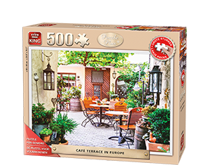 Puzzle Plus 500pcs Terrace Europe