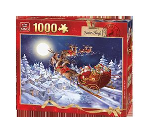Generic 1000pcs Santa Sleigh