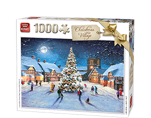 Generic 1000pcs Christmas Village