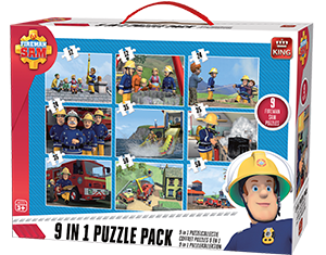 Fireman Sam 9in1 Suitcase